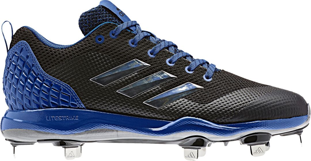 187bcfa8491 adidas Men s Poweralley 5 Metal Baseball Cleats 1