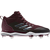 adidas Men's Poweralley 5 Mid Metal Baseball Cleats