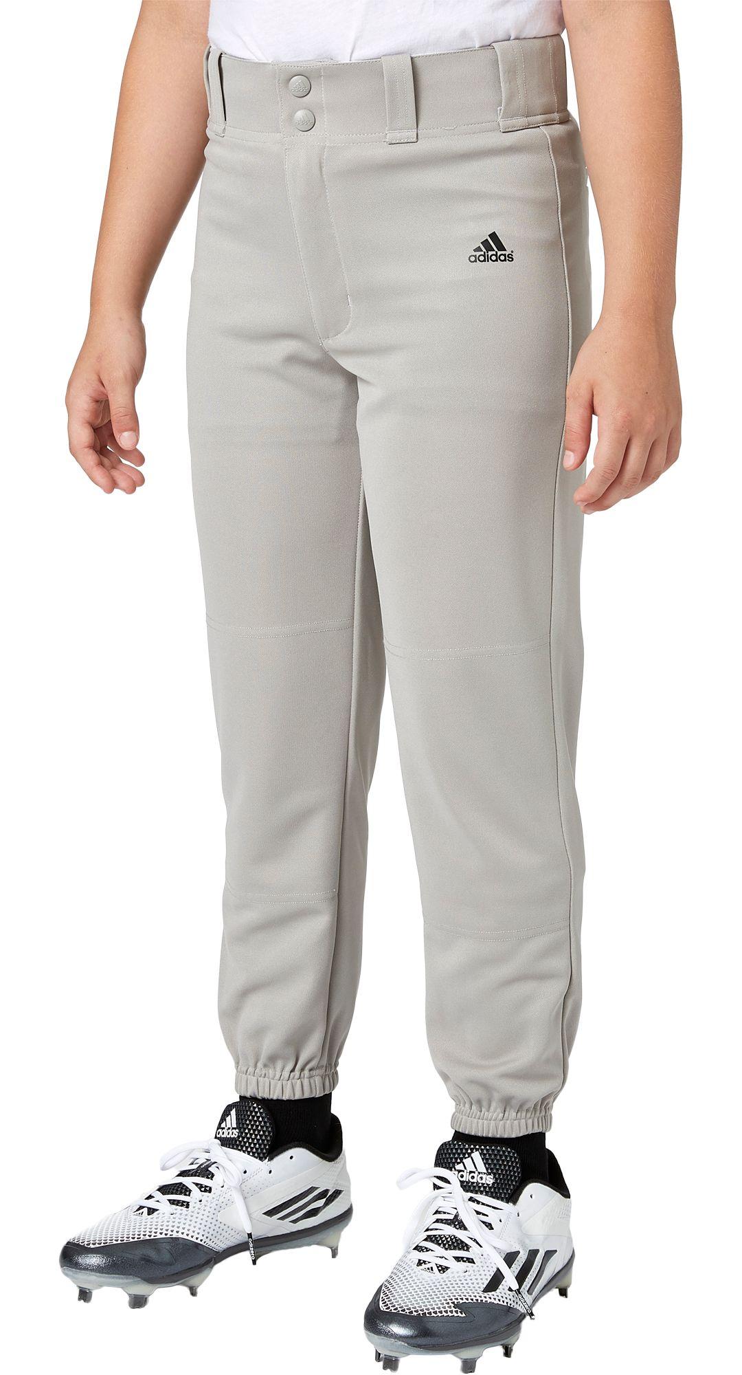 6f63ed340 adidas Boys' Triple Stripe Traditional Baseball Pants   DICK'S ...