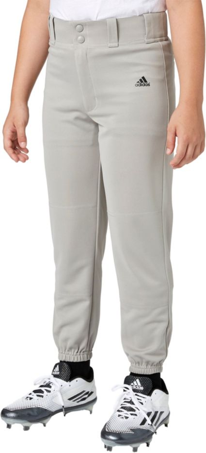 adidas Boys' Triple Stripe Traditional Baseball Pants
