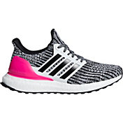 50a1d7220 Product Image · adidas Kids  Grade School Ultraboost Running Shoes in  White Black Pink