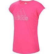 adidas Girls' Graphic T-Shirt