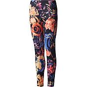 adidas Originals Girls' Rose Print Leggings