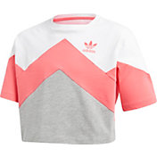 adidas Originals Girls' Cropped T-Shirt