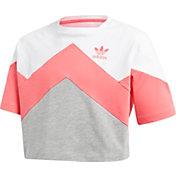 adidas Originals Girls' Cropped T-Shirt