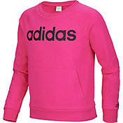 adidas Girls' French Terry Sweatshirt