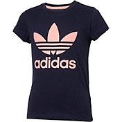 adidas Originals Girls' Trefoil T-Shirt