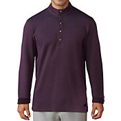 adidas Men's Button-Up Pique Golf Henley