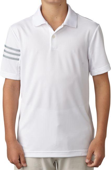 adidas Boys' climacool 3-Stripes Polo
