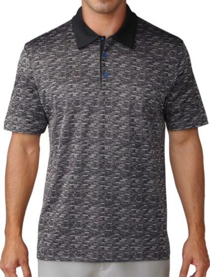 adidas Men's Adicross PrimeKnit Icon Golf Polo