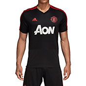 adidas Men's Manchester United Training Black Performance Shirt