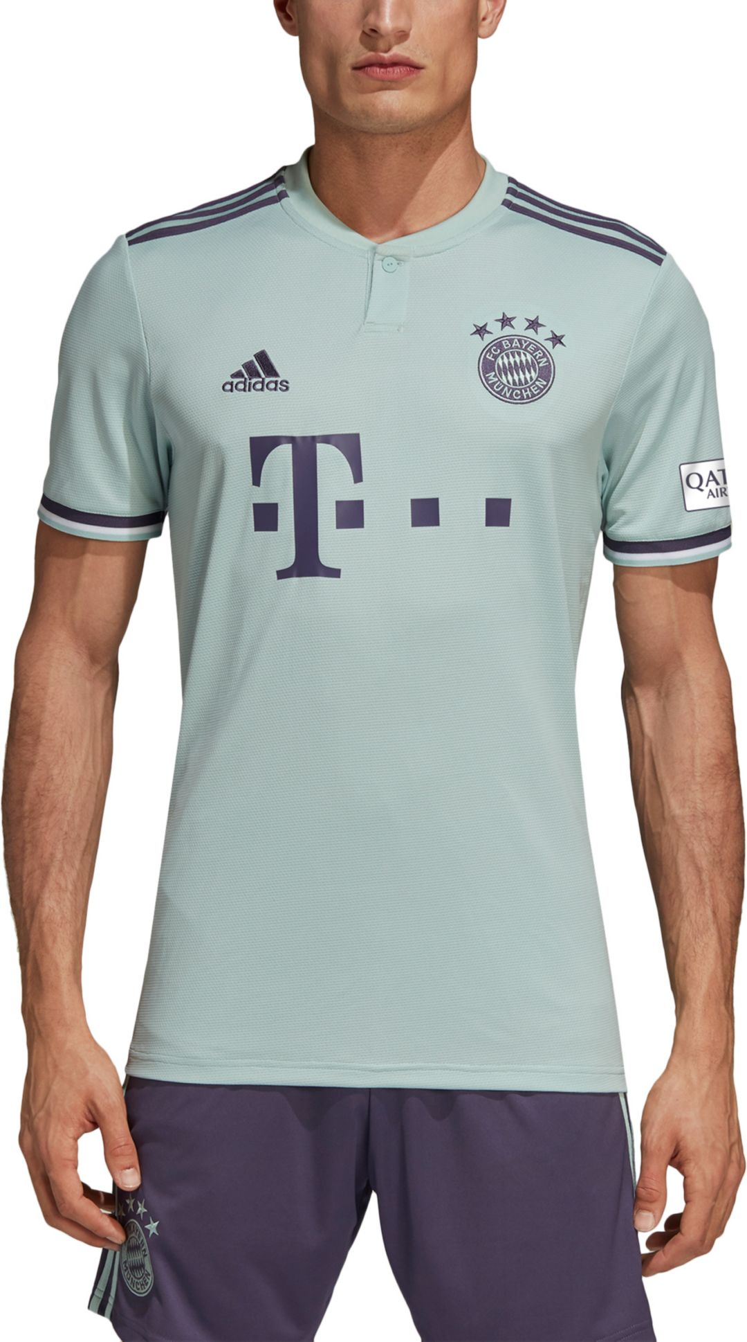 6c846135068 adidas Men's Bayern Munich 2018 Stadium Away Replica Jersey | DICK'S ...