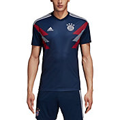 adidas Men's Bayern Munich Navy Prematch Top