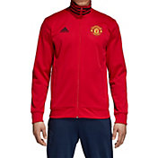 adidas Men's Manchester United Red Track Jacket