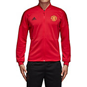 adidas Men's Manchester United Zone Red Full-Zip Jacket