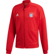 adidas Men's Bayern Munich Zone Red Full-Zip Jacket