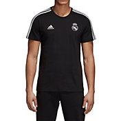 adidas Men's Real Madrid 3's Black T-Shirt