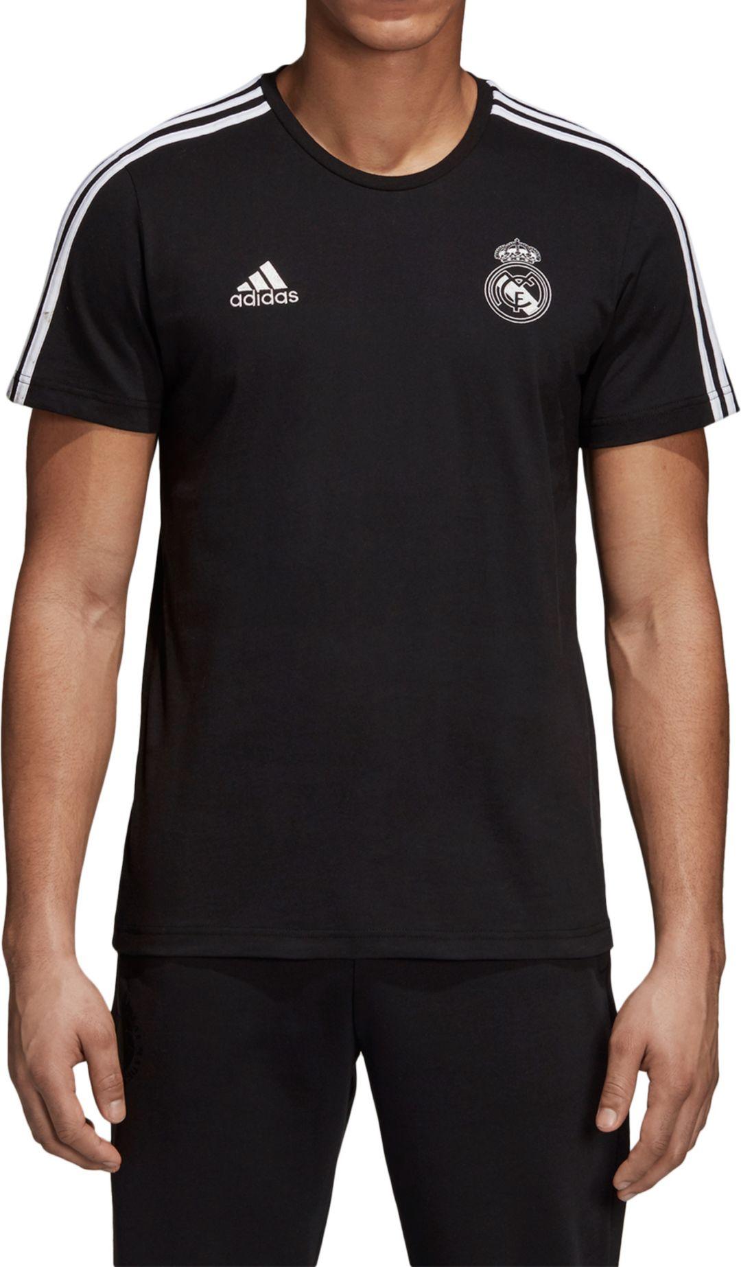 cfc6c9c1ed adidas Men's Real Madrid 3's Black T-Shirt