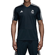 adidas Men's Real Madrid Training Black Performance Shirt