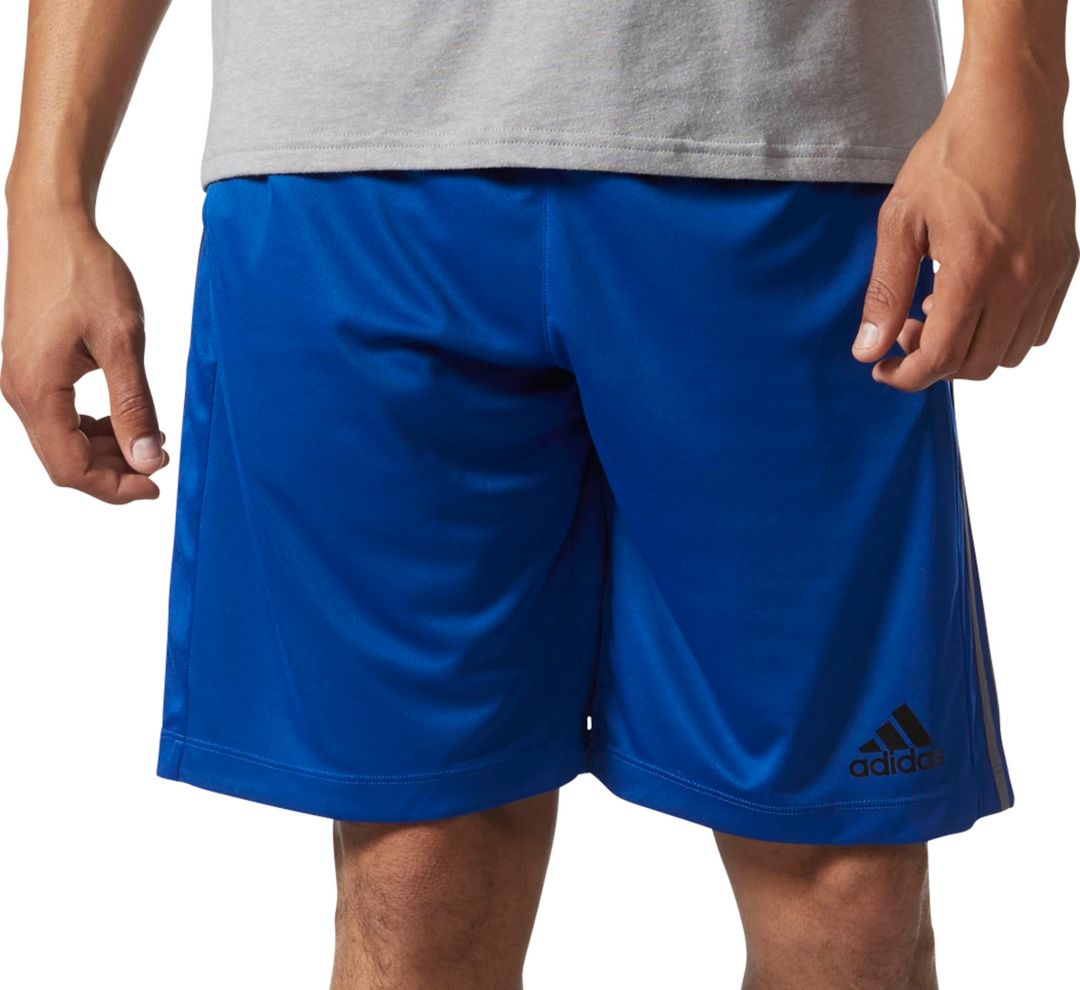uk store undefeated x the sale of shoes adidas Men's Designed 2 Move 3-Stripes Shorts