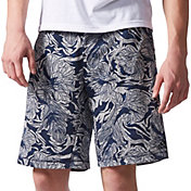 adidas Men's Sport ID French Terry Floral Camo Sweat Shorts