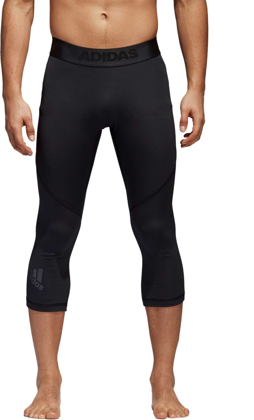 eedc0966117b2 adidas Men's Alphaskin 3/4 Training Tights | DICK'S Sporting Goods