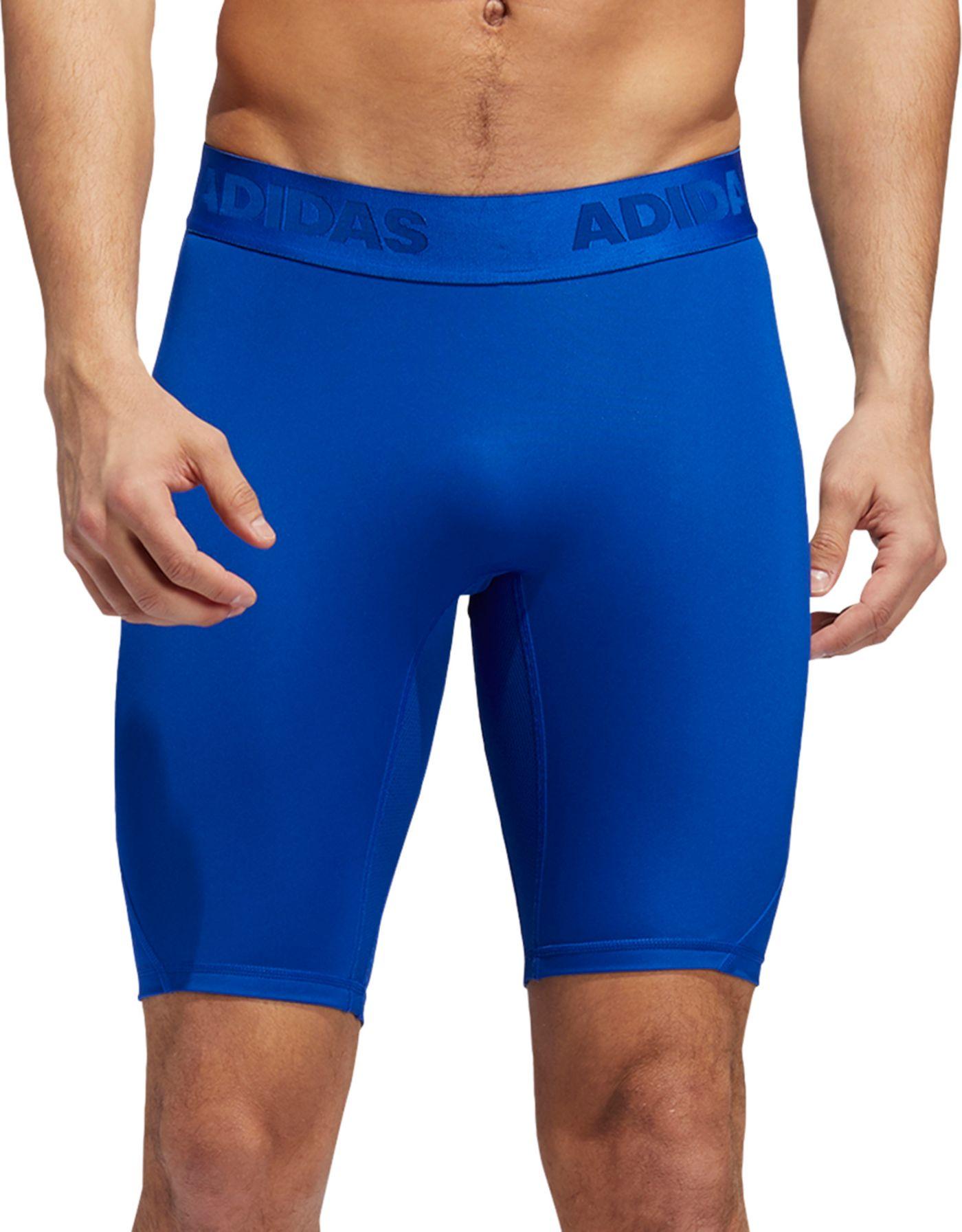 adidas Men's Alphaskin Sport Training Fitted Shorts