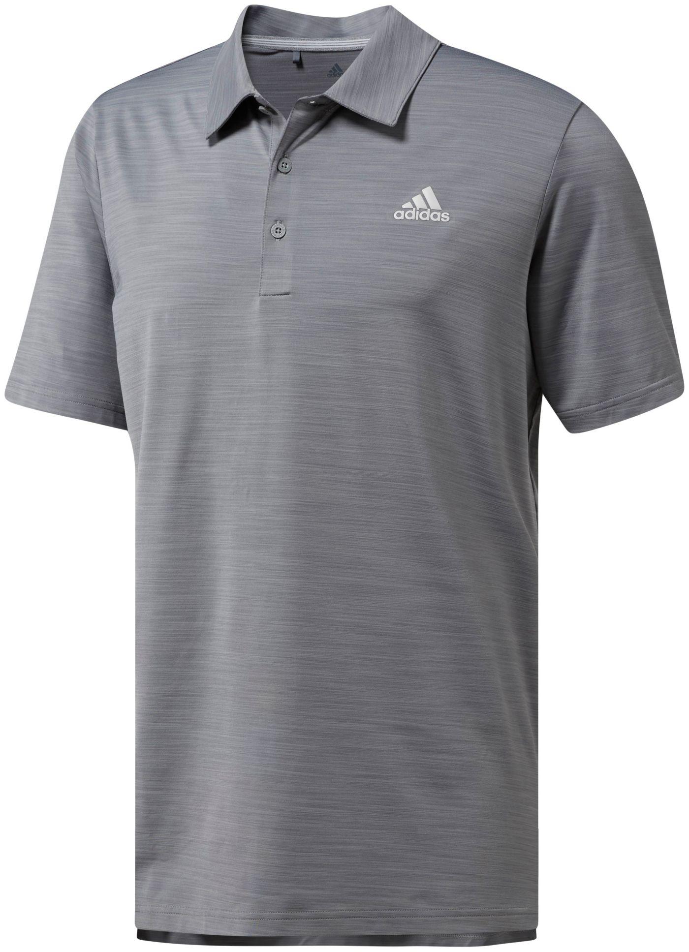 adidas Men's Ultimate365 Heather Golf Polo