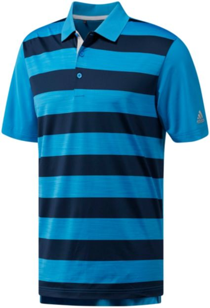 adidas Men's Ultimate365 Rugby Stripe Golf Polo