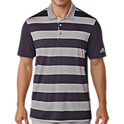 adidas Men's Ultimate Rugby Stripe Golf Polo