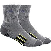 adidas Men's climalite X II Mid-crew Socks 2 Pack