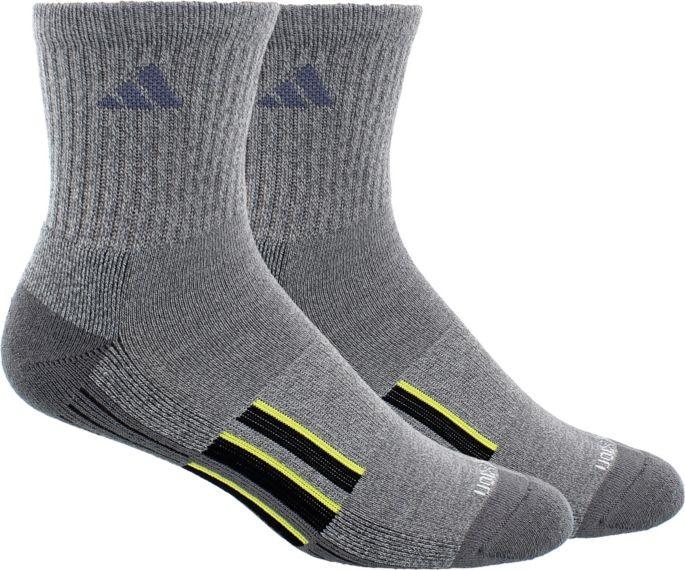 adidas Men's climalite X II Mid Crew Socks 2 Pack