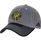 adidas Men's Columbus Crew Slouch Grey/Black Adjustable Hat