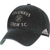 adidas Men's Columbus Crew Slouch Black Adjustable Hat