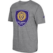 adidas Men's Orlando City Vintage Crest Grey T-Shirt