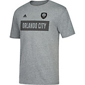 adidas Men's Orlando City Bar None Heather Grey T-Shirt