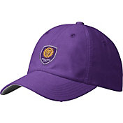 adidas Men's Orlando City Slouch Purple Adjustable Hat