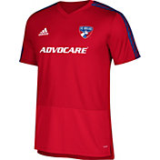 adidas Men's FC Dallas Training Red Performance Shirt