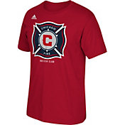 adidas Men's Chicago Fire Basic Logo Red T-Shirt