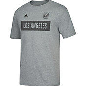 adidas Men's Los Angeles FC Bar None Heather Grey T-Shirt