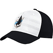 adidas Men's Minnesota United FC Authentic Structured Black/Red Flexfit Hat