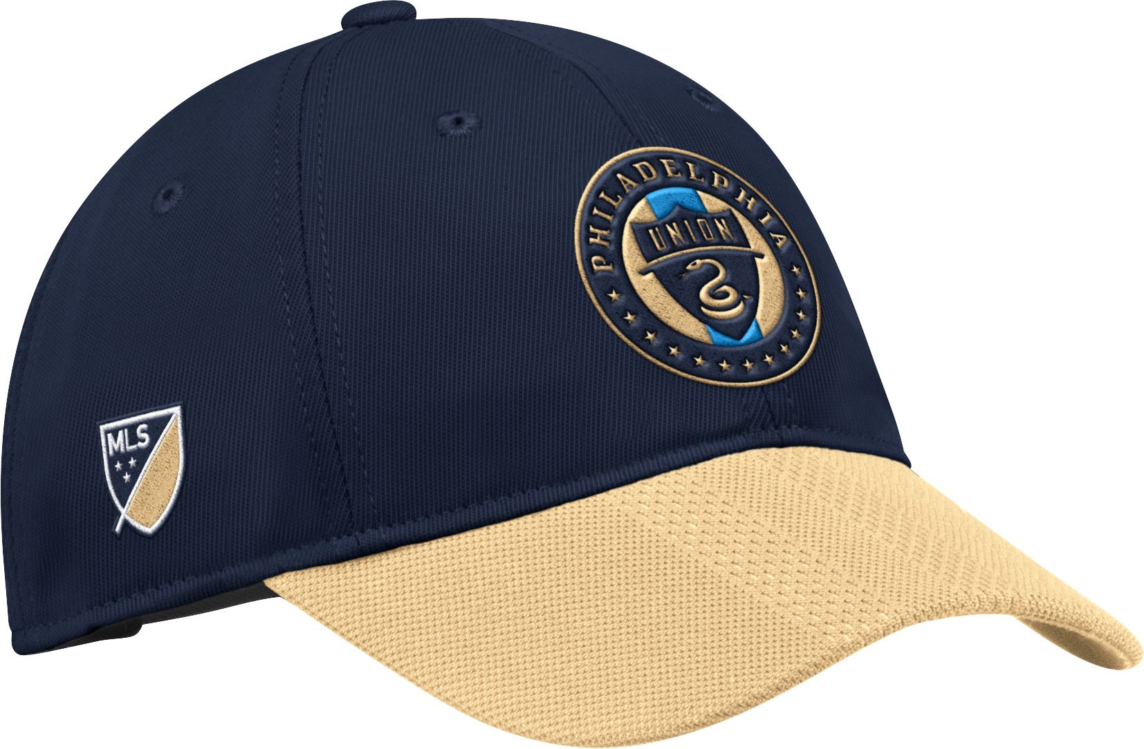 newest c38d8 f35c8 ... coupon adidas mens philadelphia union authentic slouch navy adjustable  hat a9150 27bf2