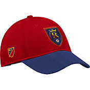 adidas Men's Real Salt Lake Authentic Slouch Maroon Adjustable Hat