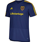 adidas Men's Real Salt Lake Training Navy Performance Shirt