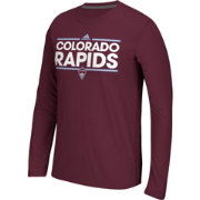 adidas Men's Colorado Rapids Dassler Ultimate Maroon Long Sleeve Shirt