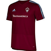 adidas Men's Colorado Rapids Training White Performance Shirt