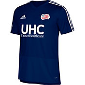 adidas Men's New England Revolution Training Navy Performance Shirt