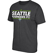 adidas Men's Seattle Sounders Dassler Dark Heather Grey T-Shirt