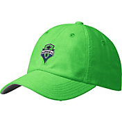 adidas Men's Seattle Sounders Slouch Green Adjustable Hat