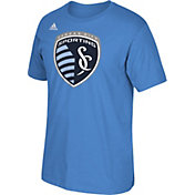adidas Men's Sporting Kansas City Basic Logo  T-Shirt